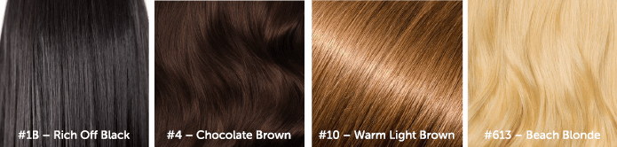 4 Hair Colors
