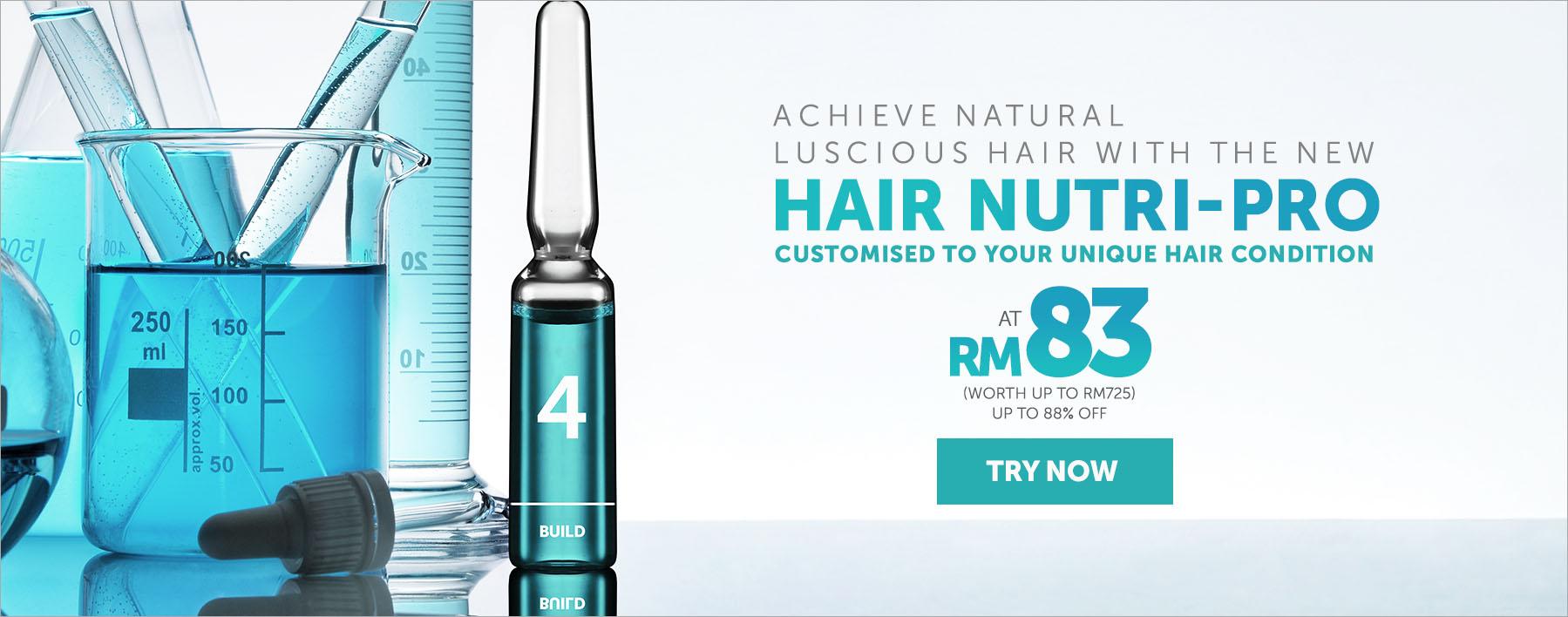 Achieve Natural Luscious Hair with Hair Nutri-Pro