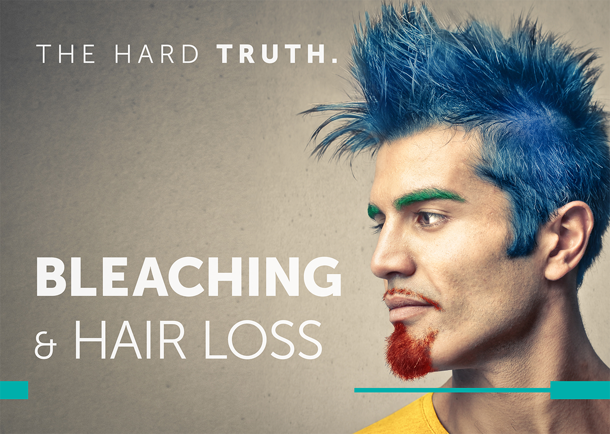 Hair Bleaching & Hair Loss